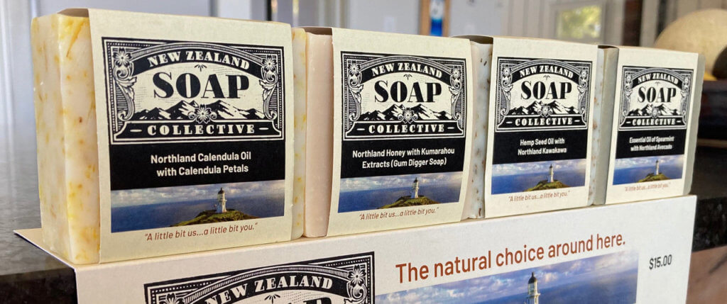 Range of soap products